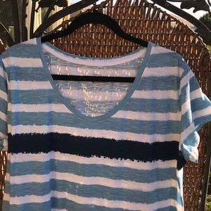 ⭐️5 for $25 Style & Co The Essential Tee Stripe